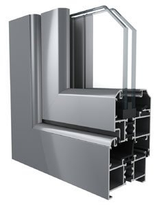 Ventana abatible DP60A