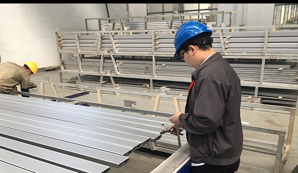 Probador de dureza Webster para perfiles de aluminio