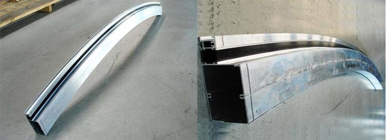 Perfiles de aluminio de plegado de Jia Hua