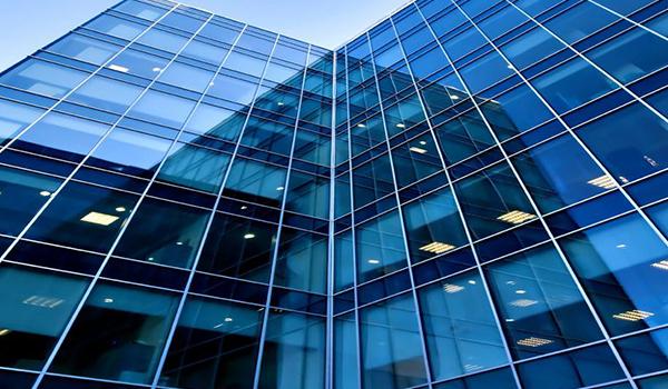 Perfiles de muro cortina de componentes para edificios de gran altura