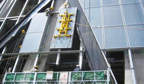 Perfiles de aluminio para muro cortina unitario